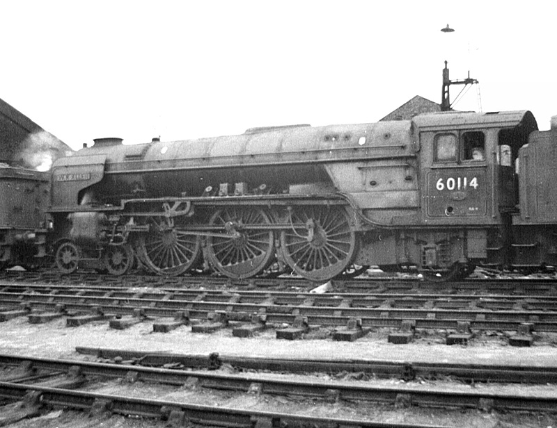 "LNER ""A1"" No.60114 at Worcester"