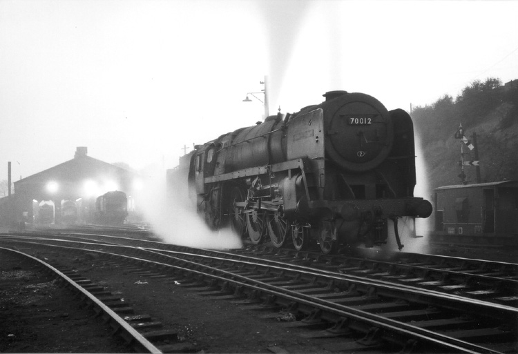 70012 at Worcester