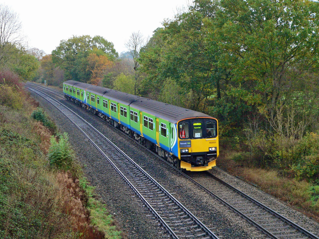 Farewell to the class 150s