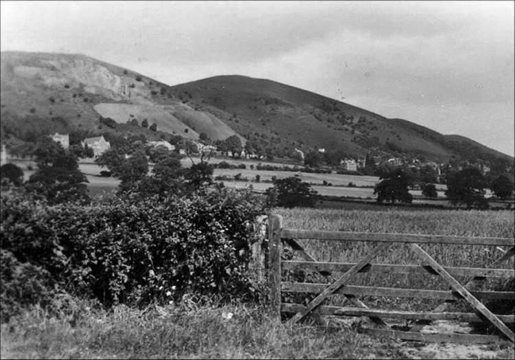 Little Malvern quarry in the mid 1930s