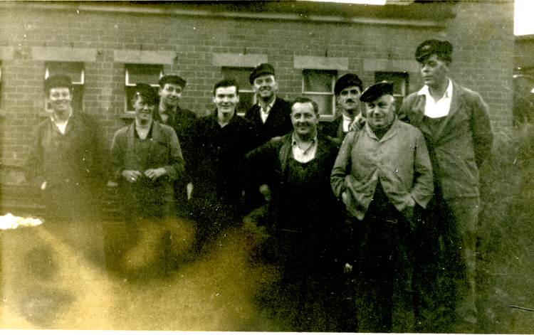 Train Crew at Worcester in 1963