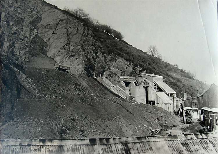 Tank quarry about 1923