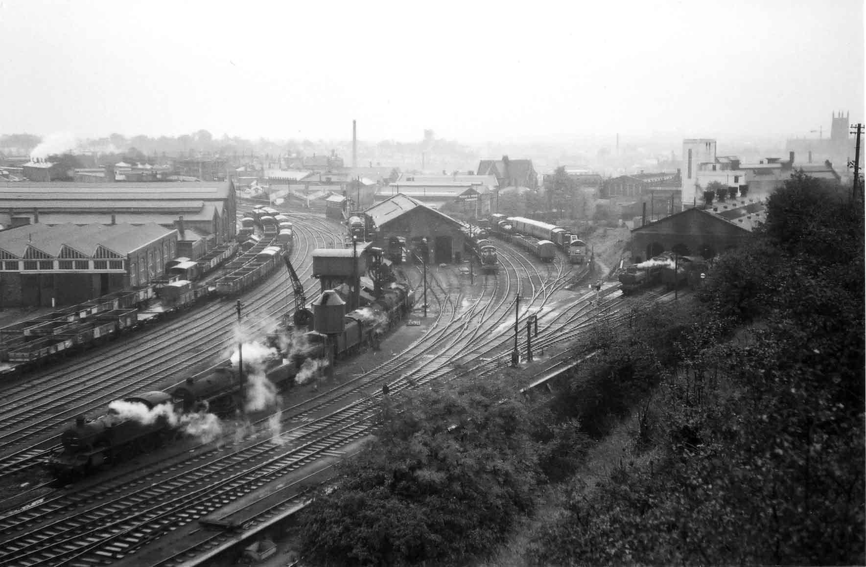 Worcester Engine Sheds